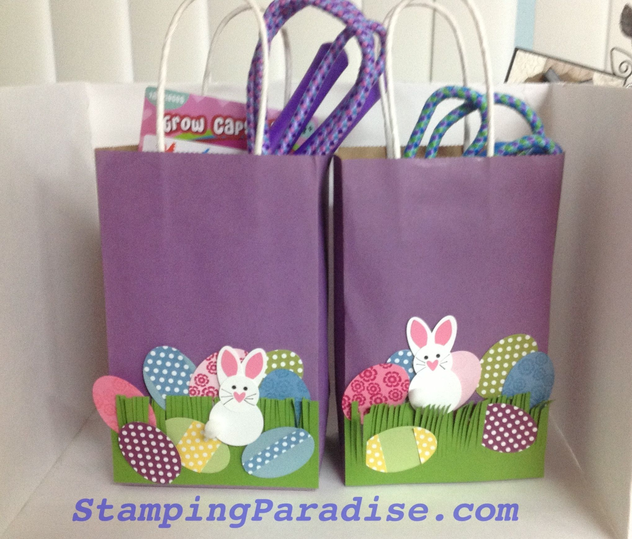 Easter bunny gift bags stamping paradise kids craft pinterest easter bunny gift bags stamping paradise negle Gallery