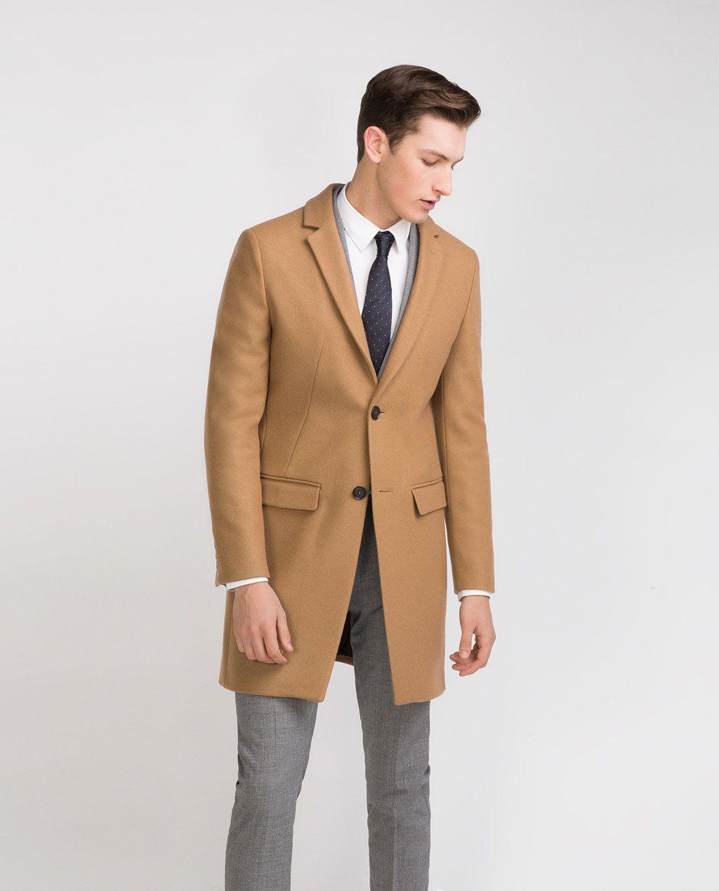 Khaki mantel herren