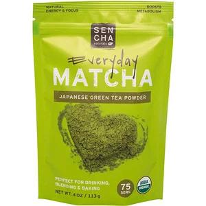 Sencha Naturals Matcha Green Tea Powder Japanese Everyday Grade 4 Oz 113 G 緑茶 おからパウダー 抹茶
