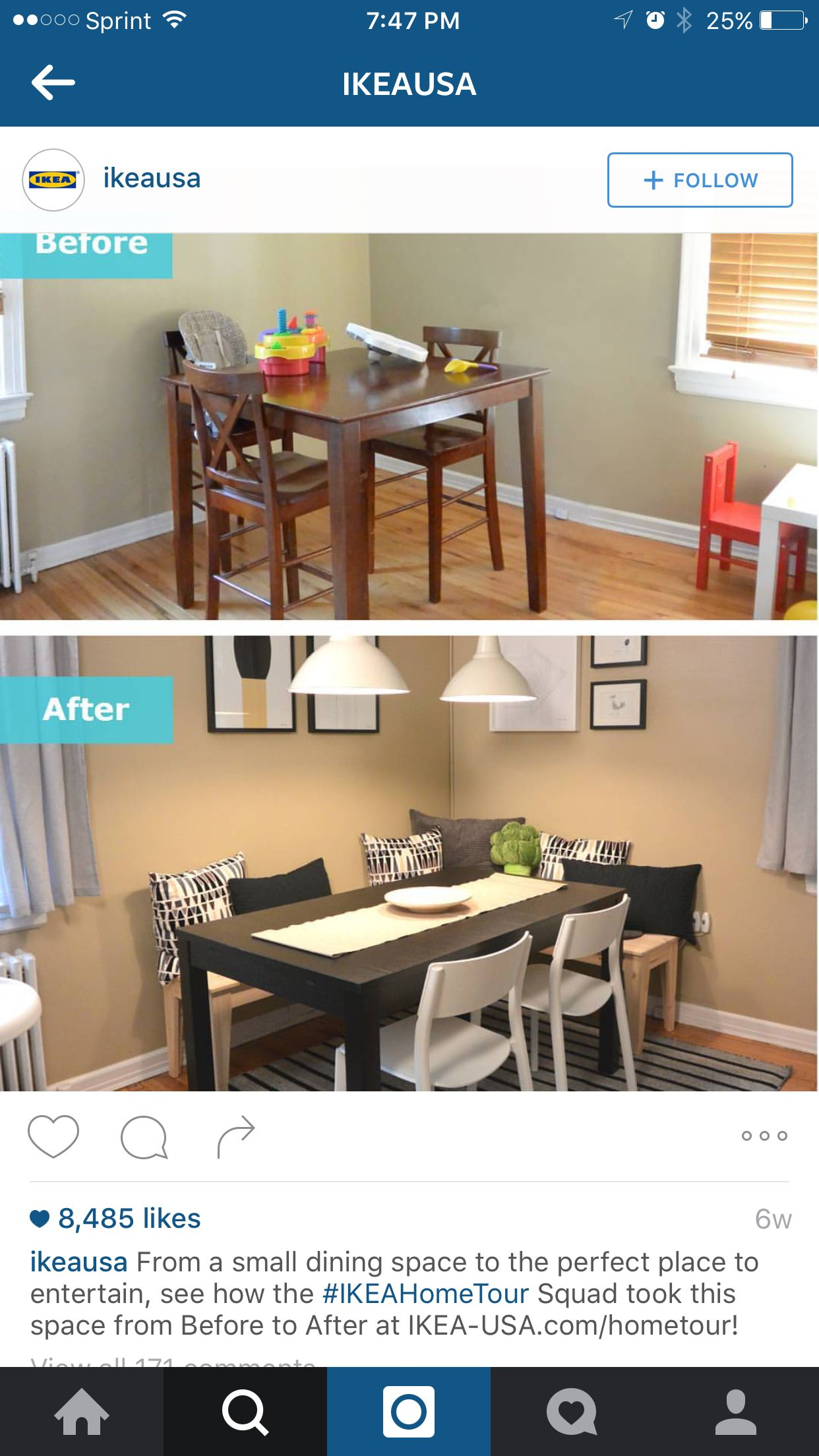 Dining table hack HomeSweetHome Pinterest