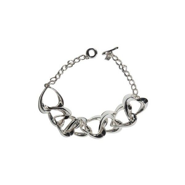 Pre-owned Robert Lee Morris Silver Plated Necklace ( 175) ❤ liked on  Polyvore 7229362431bac