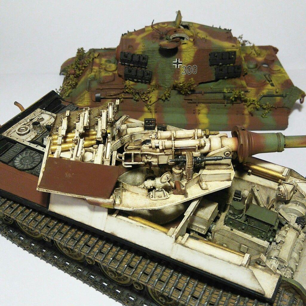 Tiger Tank Interior Model: Ww2 Tanks, Military Modelling