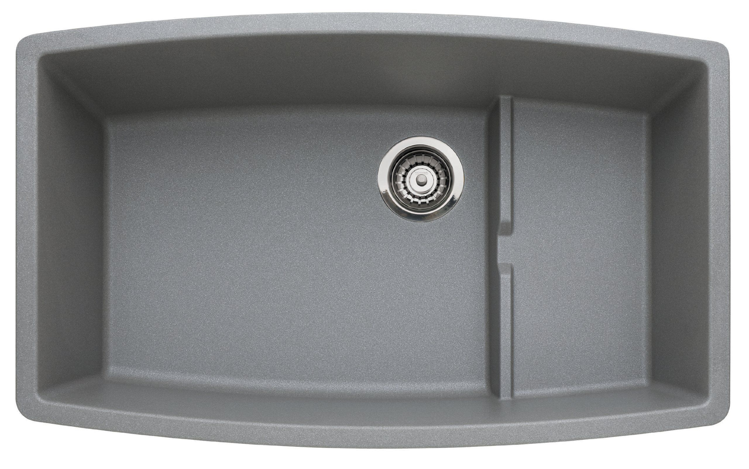 Blanco 440067 Performa Single-Basin Undermount Granite Kitchen Sink ...