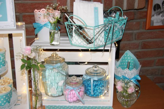 ankerwerfer deko candy bar t rkis tiffany blue hellblau rosa candy bar inspirationen. Black Bedroom Furniture Sets. Home Design Ideas