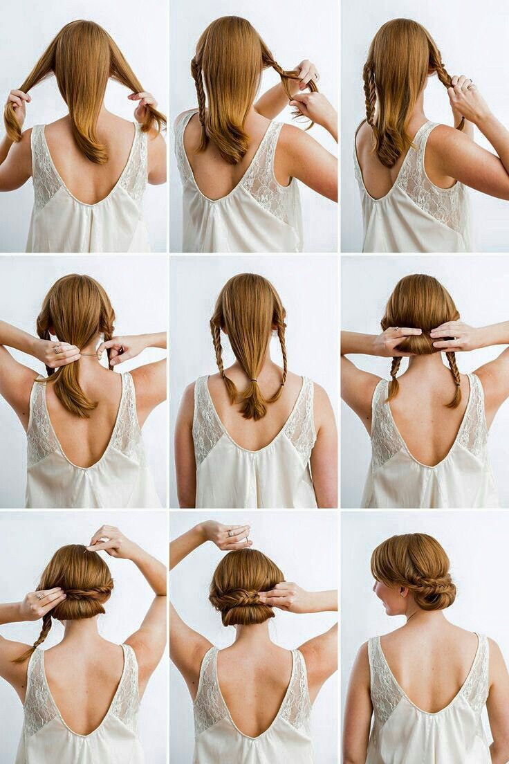 Chongo trenza | Hairstyles | Pinterest | Hair style, Easy hairstyles ...