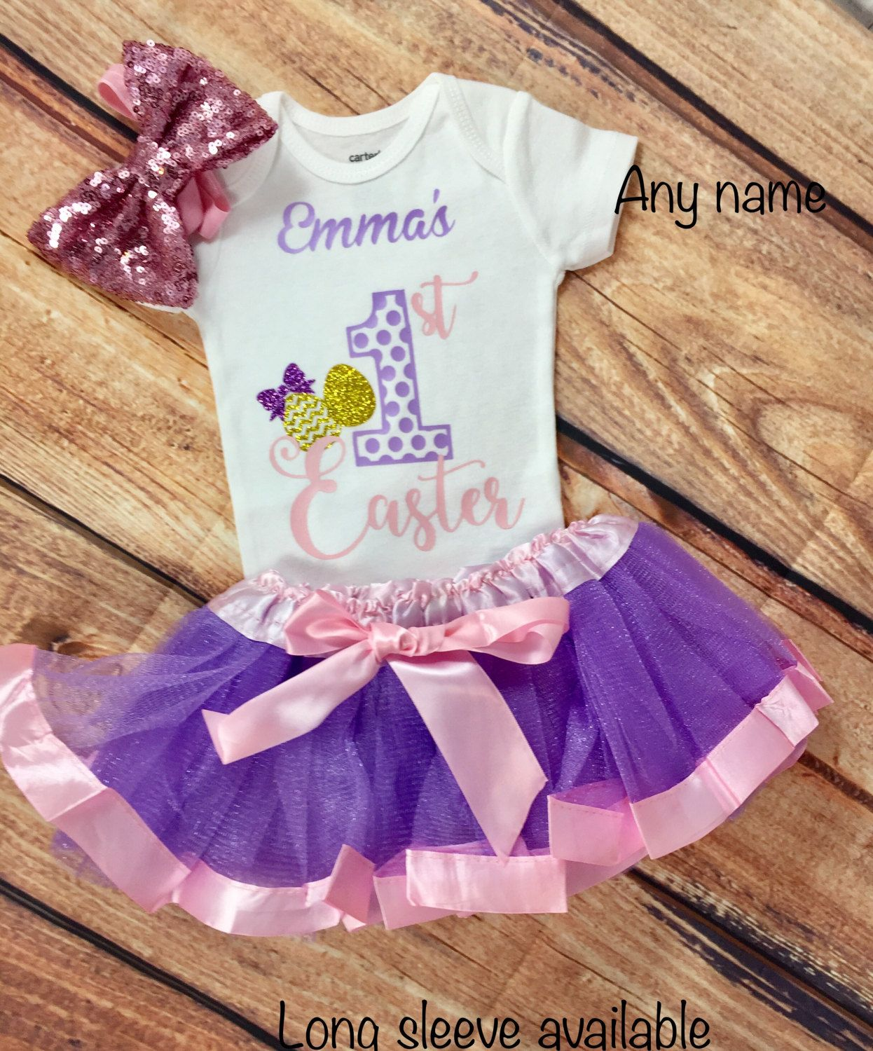607d38529 1st Easter Outfit Baby Girl First Easter Outfit Girl Baby s 1st ...