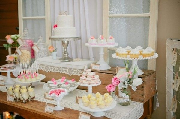 wedding cupcake table ideas | Photo Gallery of the Wedding Dessert ...