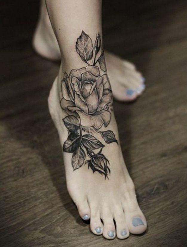 31++ Tatouage cheville femme fleur ideas in 2021