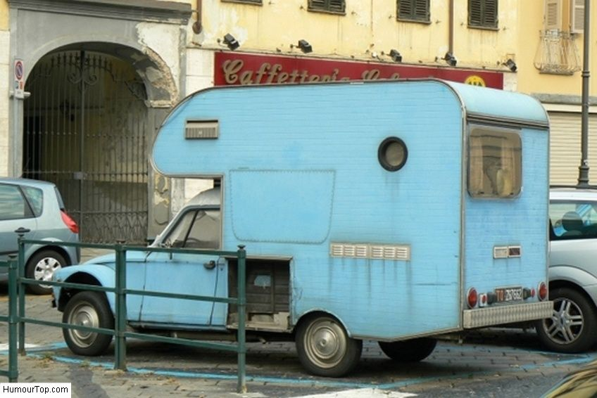 vilain camping car 2cv en italie camping pinterest camping car 2cv et camping. Black Bedroom Furniture Sets. Home Design Ideas