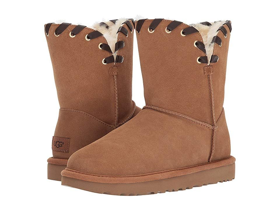 e8eeaf79e0 UGG Aidah Women's Cold Weather Boots Chestnut   Products   Pinterest ...