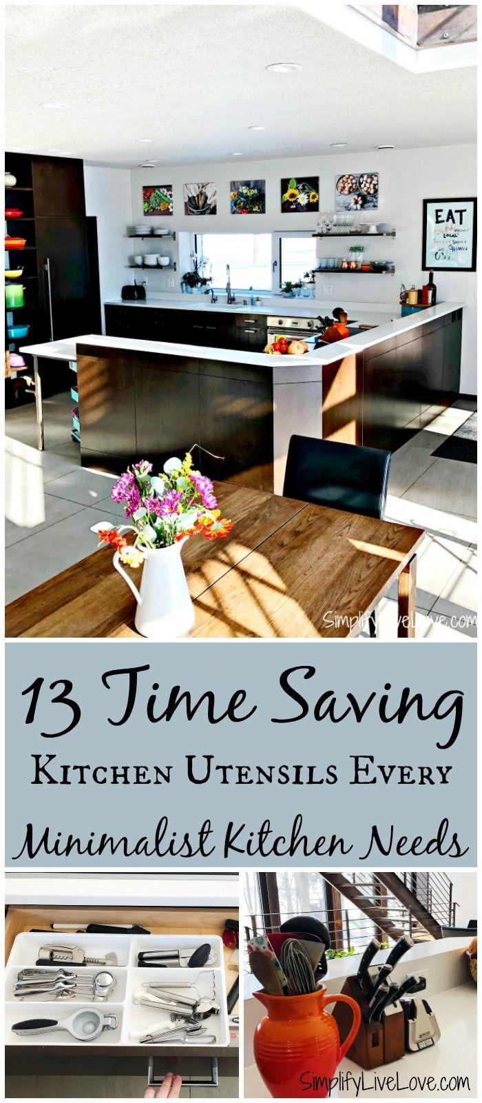 13 Time Saving Kitchen Utensils Every Minimalist Kitchen Needs ...
