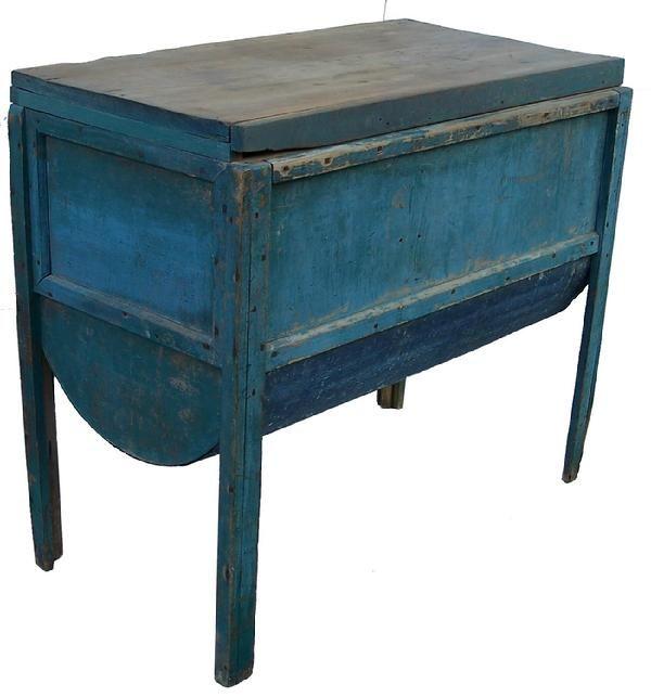 19thc Va Baker S Table Primitive Furniture Country Treasures