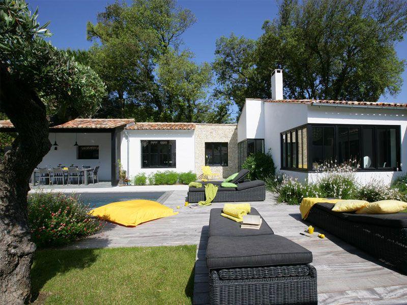 Luxury villa rent Ile de Ré SJ Villas La Couarde-sur-Mer, Luxury