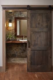 Image result for rustic home powder rooms