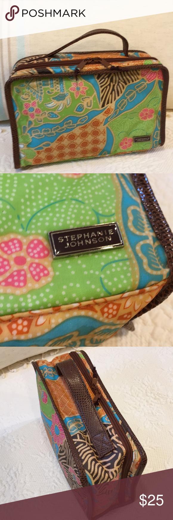 Stephanie Johnson cosmetic bag Cosmetic bag, Bags