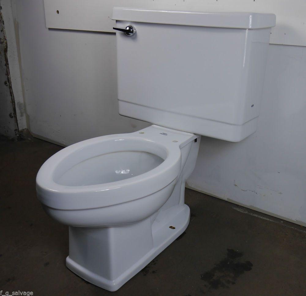 Antique Vintage Crane Drexel Toilet 1960 S White Toilet Antiques Toilet Tank Lids