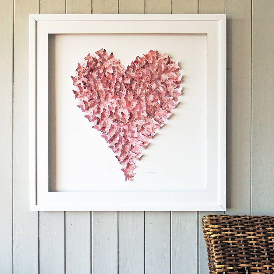 Framed 3D Vintage Pink Heart | هنر | Pinterest | Vintage pink, 3d ...
