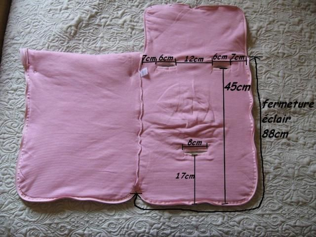 Exceptionnel modèle tricot nid d ange pour siege auto | layette | Pinterest  JF65