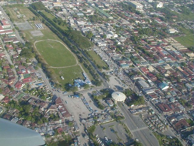 Clark Airforce Base, Phillipines ~ Main Gate area This dramatic view