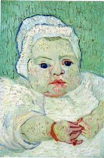 The Baby Marcelle Roulin - Vincent van Gogh