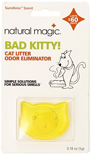 Natural Magic Bad Kitty Cat Odor Eliminator 018 Oz Learn More By Visiting The Image Link This Is An Affili Cat Litter Odor Cat Odor Litter Odor