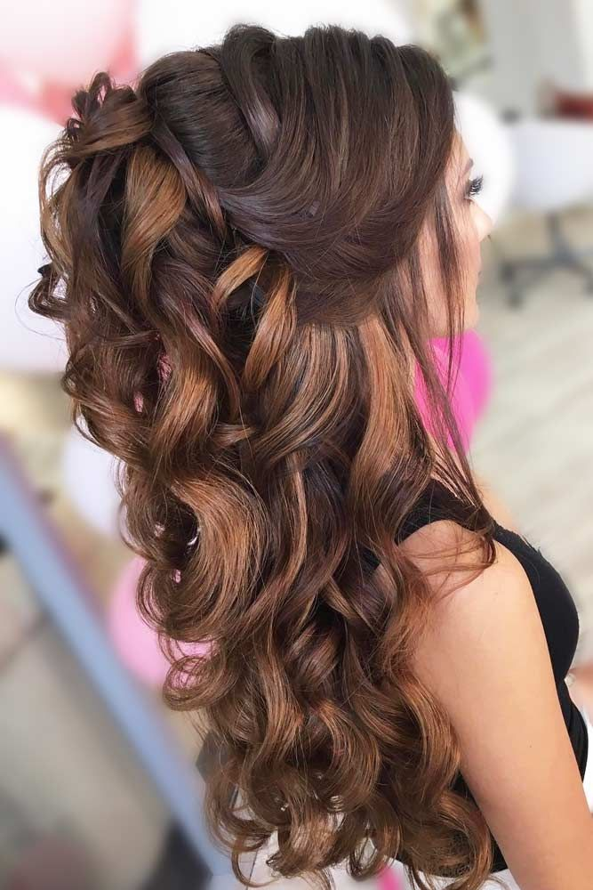 Try 42 Half Up Half Down Prom Hairstyles | Prom hairstyles ...