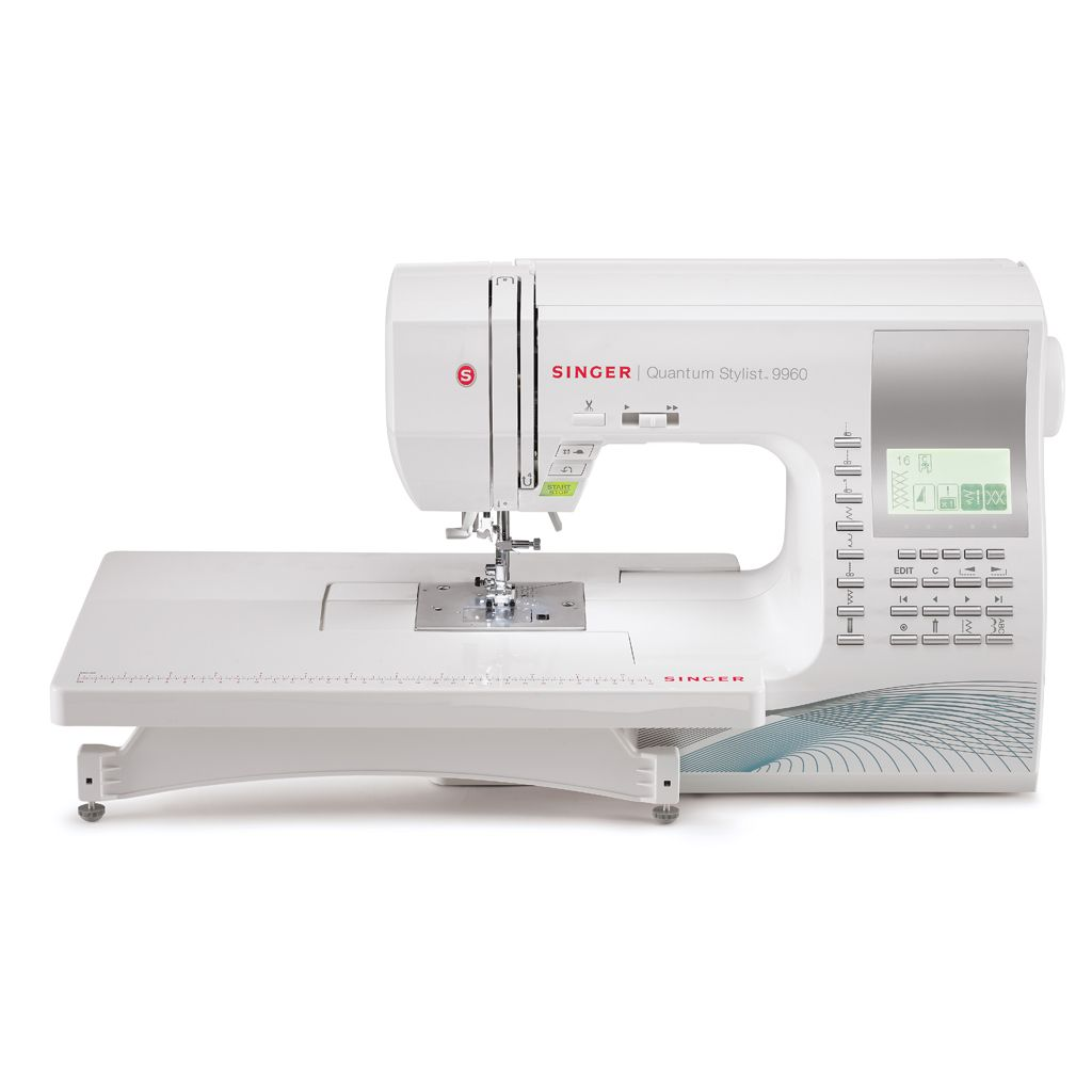 The QUANTUM STYLIST 9960 Sewing Machine with Automatic Electronic ...