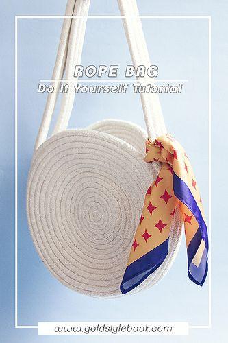 DIY COTTON ROPE BAG – BOLSA DE CORDON DE ALGODON