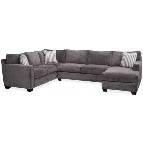 Jonathan Louis Bradford Gypsy Granite Sofa Section With Chaise | Gallery  Furniture   Houston, TX