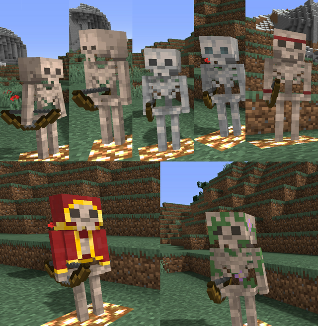 I Added A New Feature In My Resource Pack Mob Variants Minecraft Minecraft Images Minecraft Designs Minecraft Creations