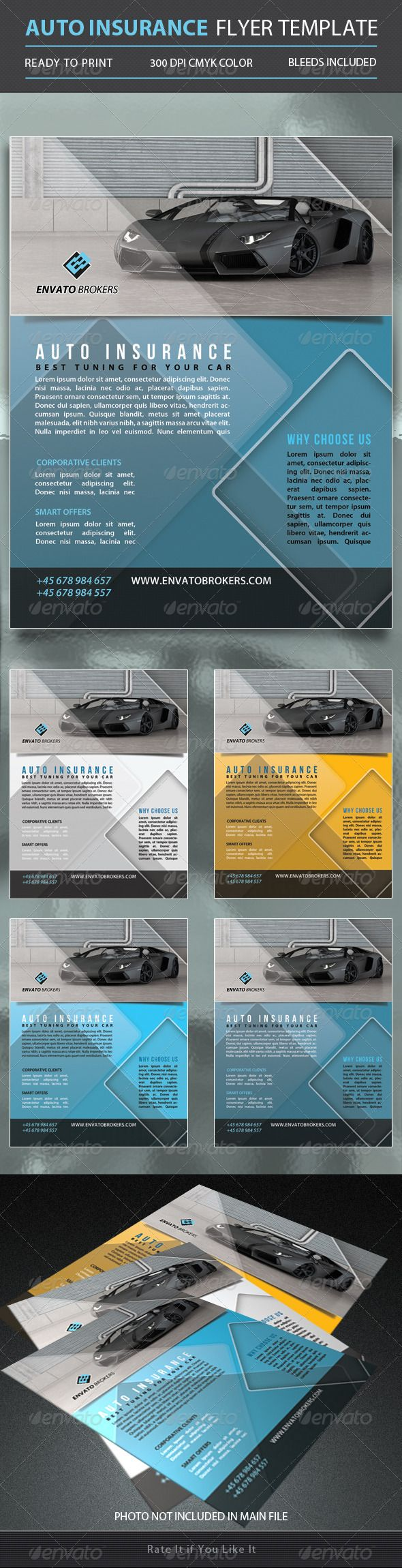 Auto Insurance Flyer Template Car Insurance Flyer Template Flyer