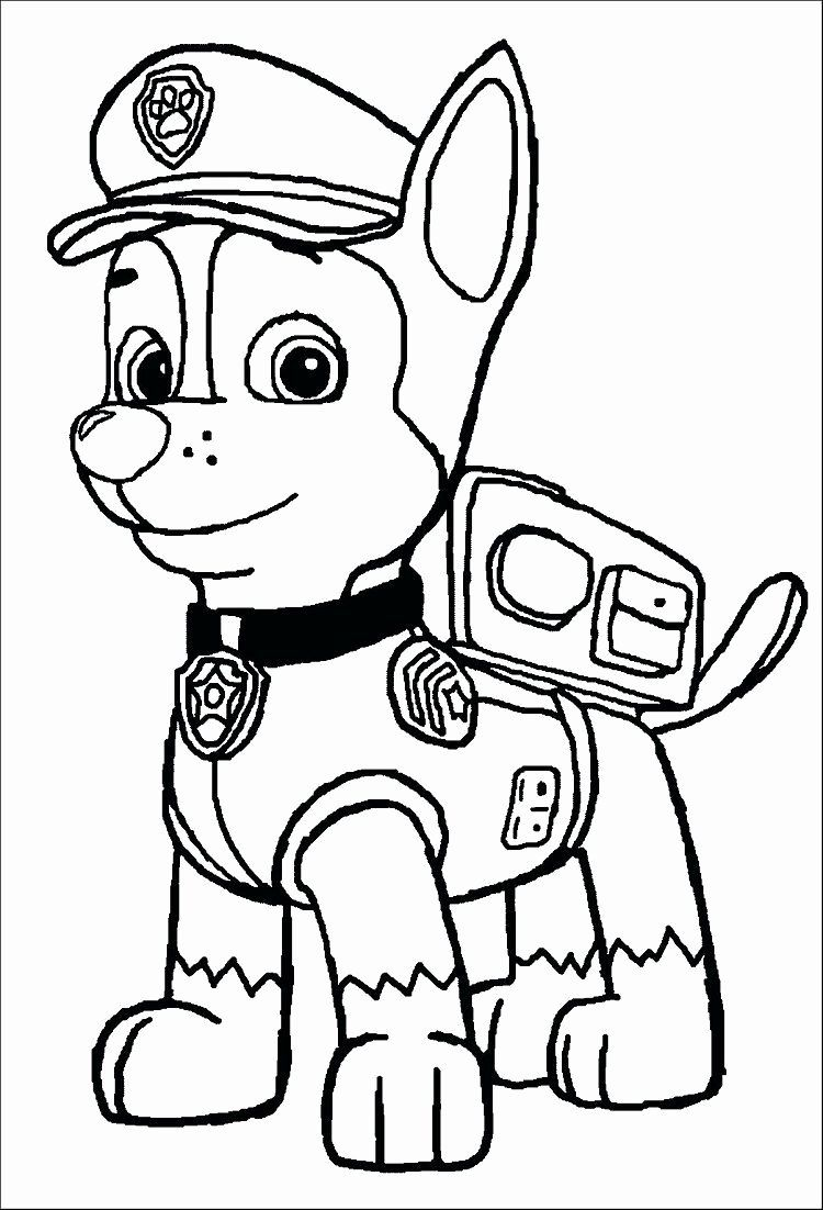 Paw Patrol Chase Coloring Page Unique Paw Patrol Coloring Pages Chase In 2020 Paw Patrol Coloring Pages Paw Patrol Coloring Marshall Paw Patrol