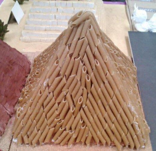 egyptian craft ideas 3d pyramid model project ideas school projects 1949