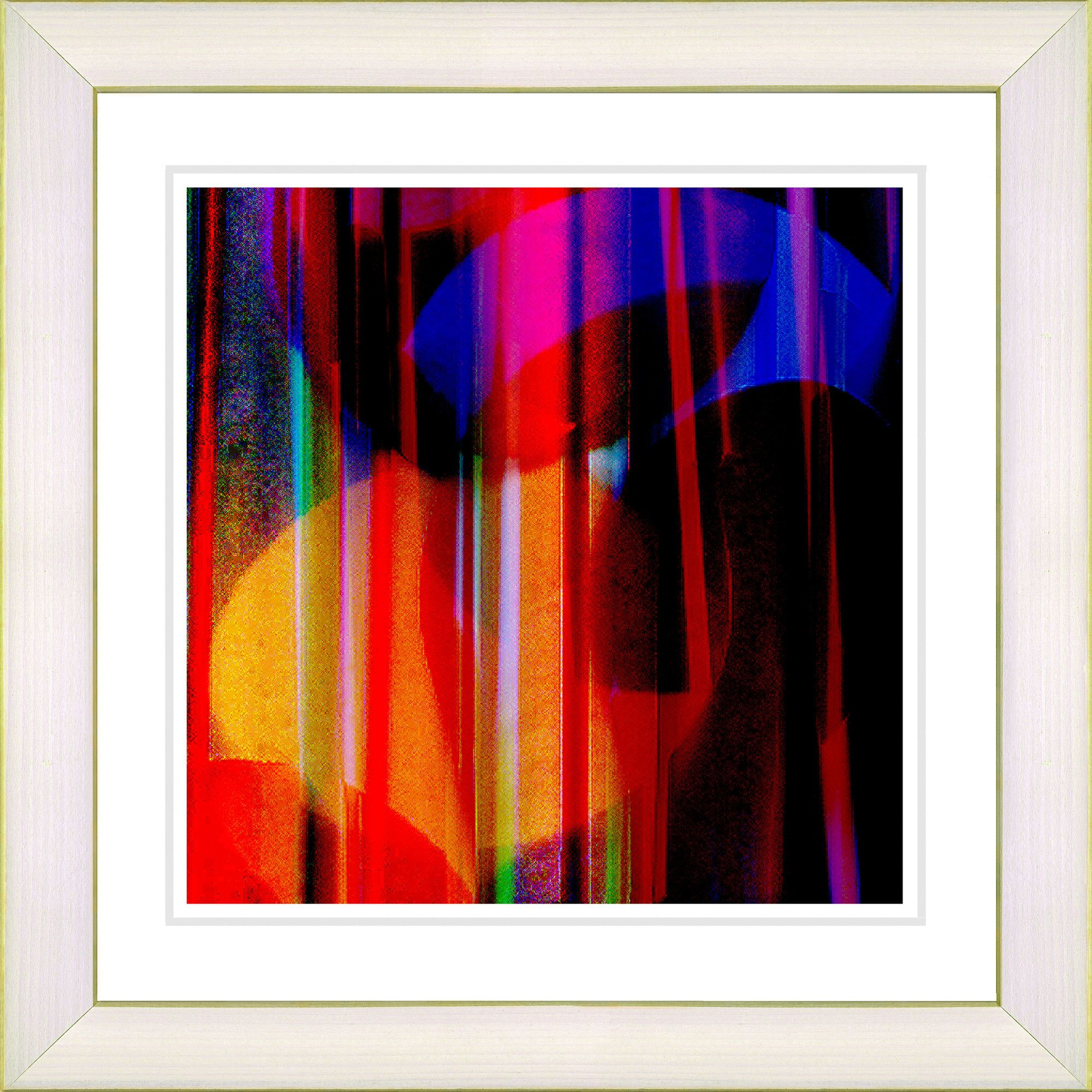 Red windfall by zhee singer framed graphic art products