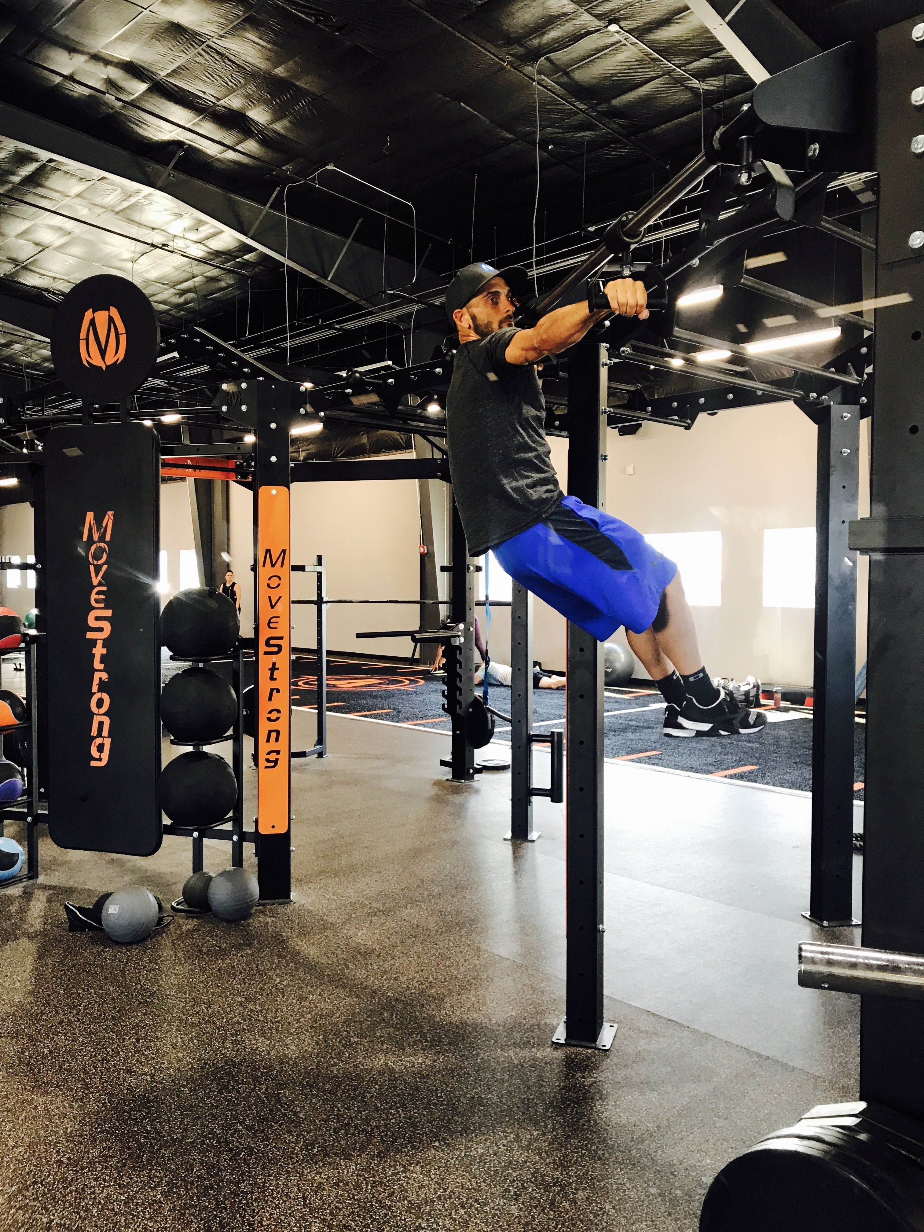 Sliding Pull Up Feature On The Movestrong Nova Functional Training Station Functional Training Kettlebell Swings Fitness Studio
