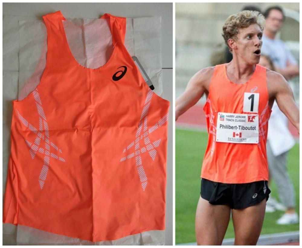 ba23b889acc ASICS Pro Elite Running Taped Singlet Race Vest Track And Field Olympic  PROMO #Asics #RunningSingletVest