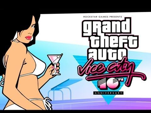 Grand Theft Auto Vice City 10th Anniversary Launch Trailer Out For Phones And Tablets From Apple And Android Gta Vice City Is B Grand Theft Auto Gta Theft