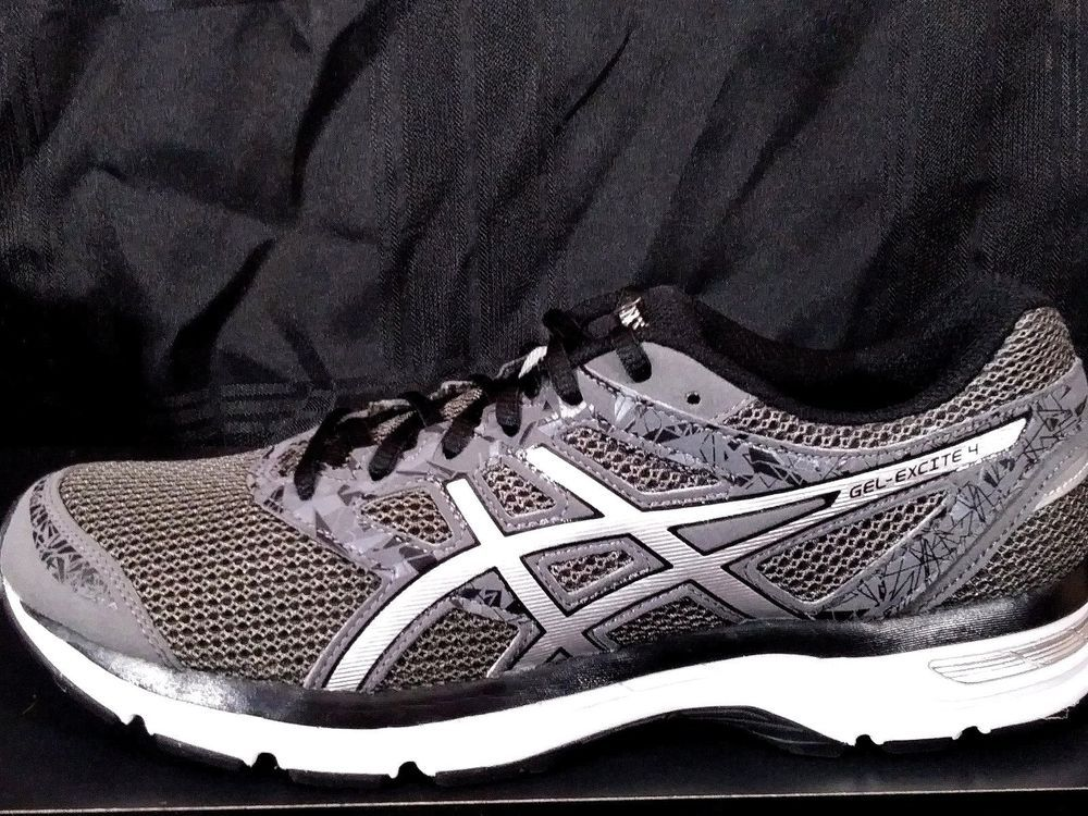 03ecb8282954 ASICS Gel Excite 4 Carbon silver black T6E3N 9793 Men shoes SIZE 9  fashion