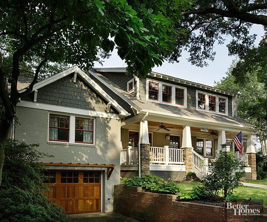 In Search of Character: Craftsman Style #craftsmanstylehomes