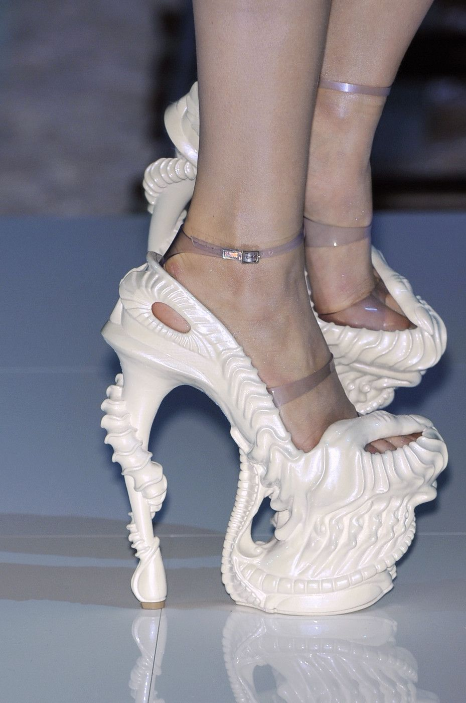 Image result for unusual shoes from runway