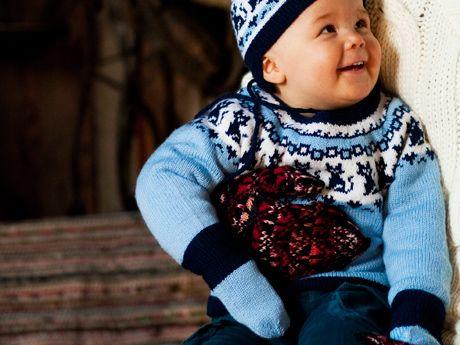 Neuleohje: Vauvan lapaset – Kotiliesi