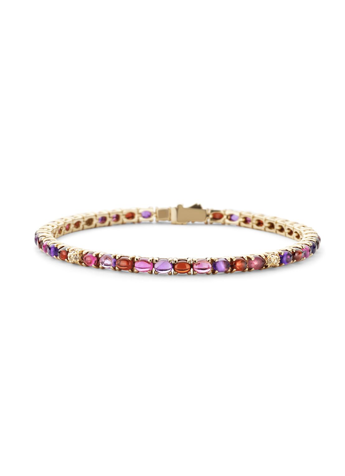 Diamond Point Colors roségouden armband