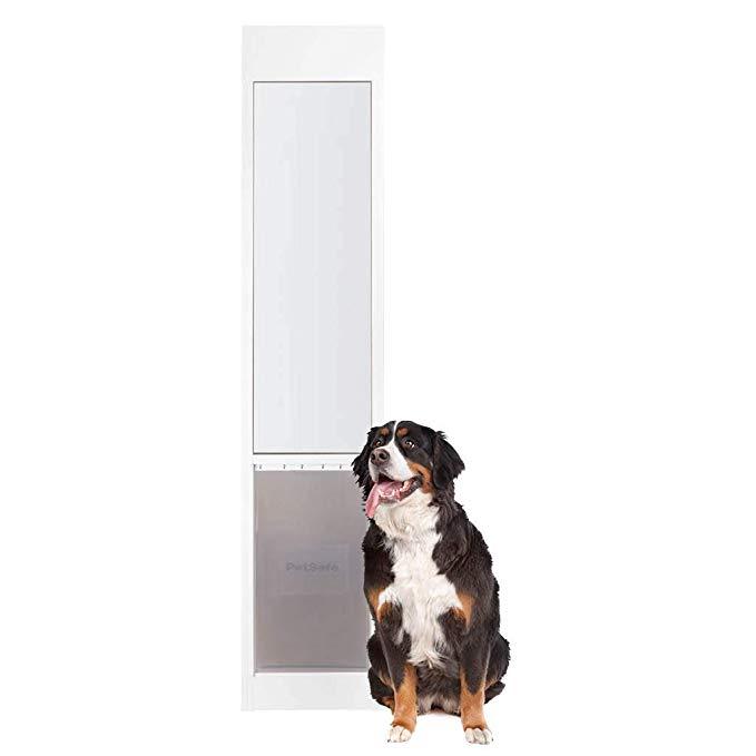 Amazon Com Petsafe Freedom Aluminum Patio Panel Sliding Glass Dog And Cat Door Adjustable 76 13 16 In To 80 11 16 In In 2020 Best Dog Door Dog Door Dog Door Insert