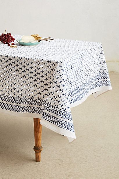 Ahoy Table Linen Abbe Pls Make This For Me Nautical Partynautical