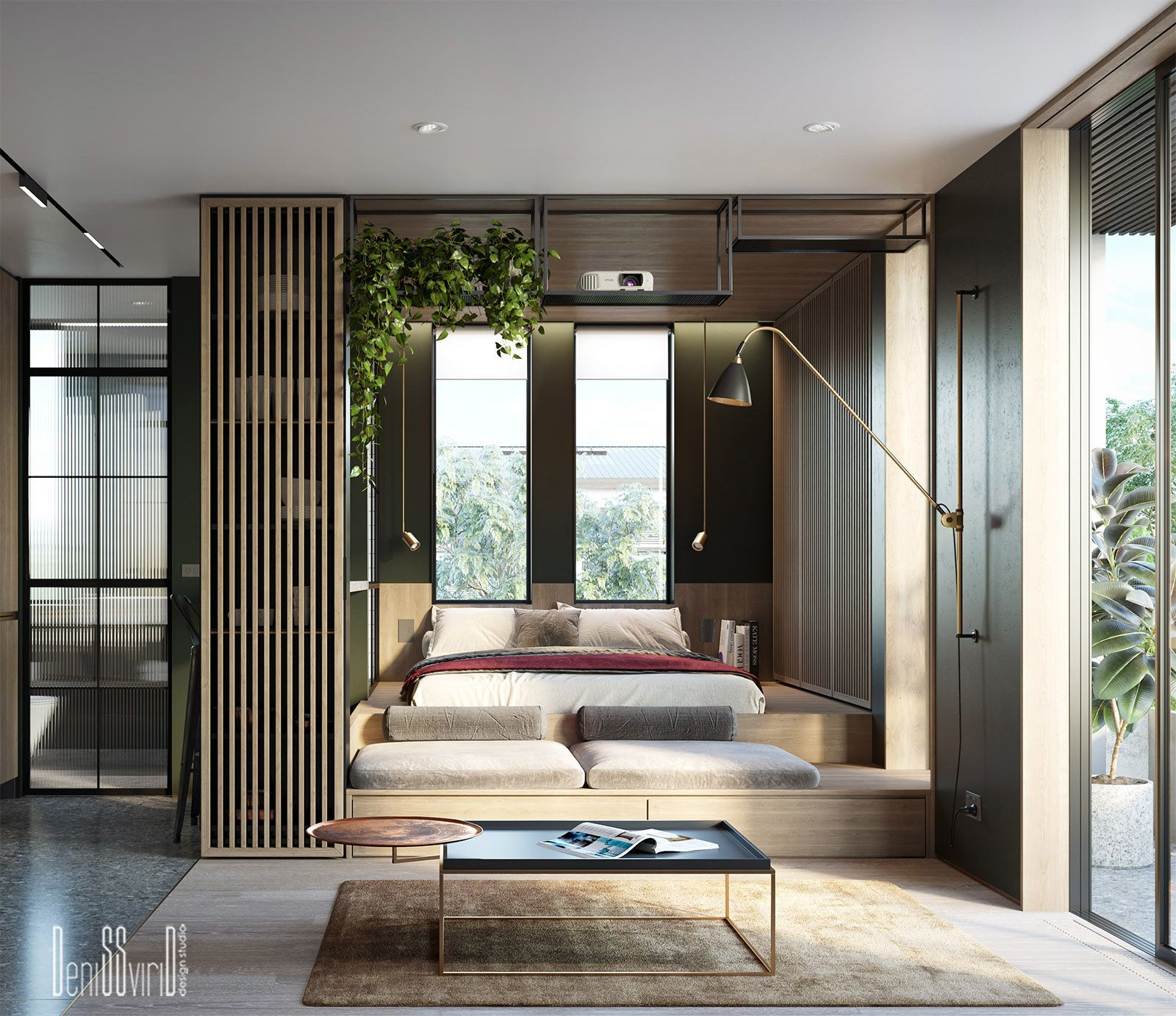 Small Apartment In Melbourne On Behance Bed Time Join