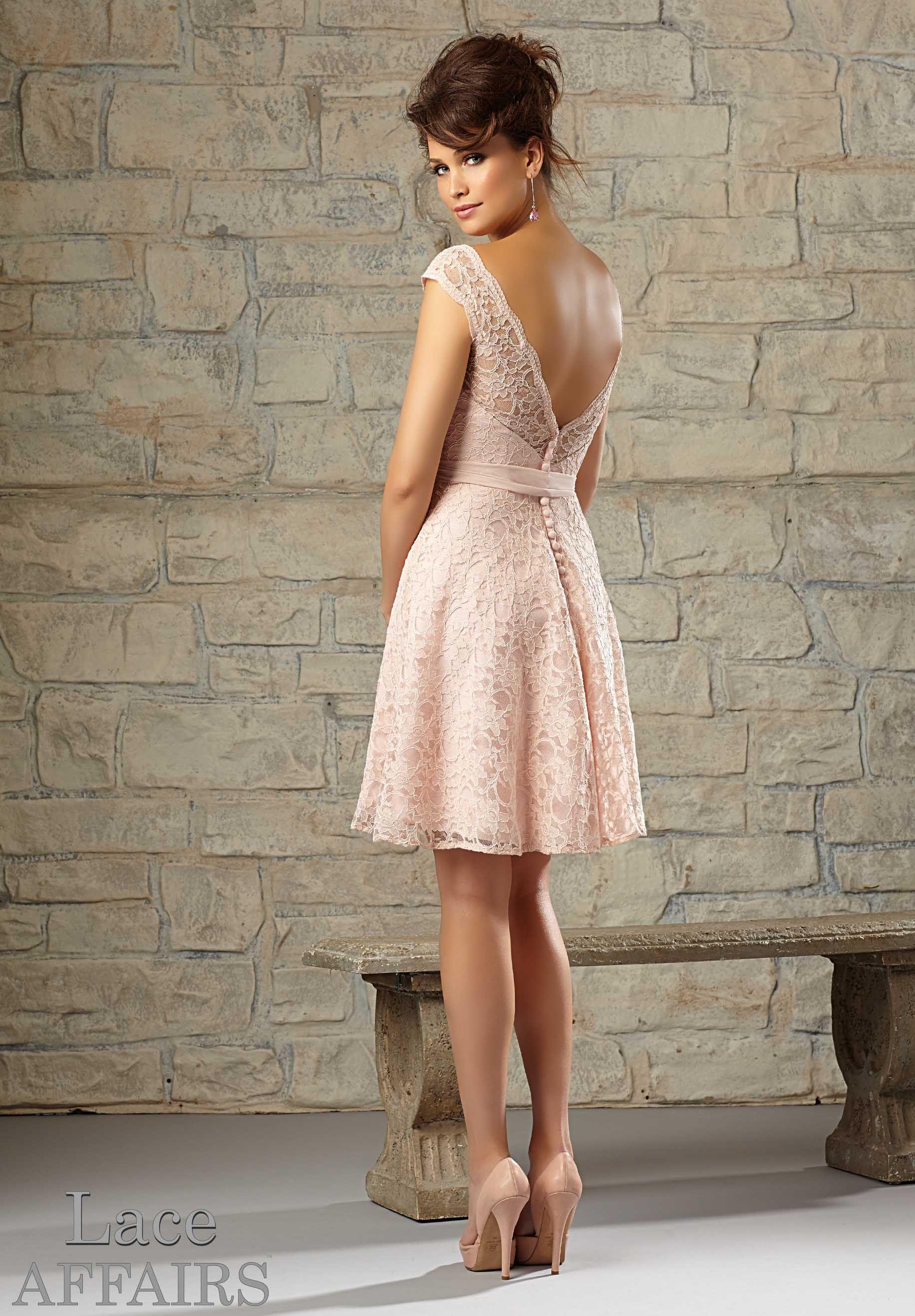 Bridesmaids Dresses – Bridal Bridesmaid Dress Style 725 | Young Lady ...