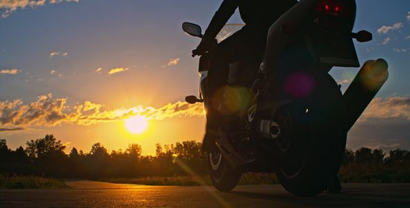 Riding Into The Sunset