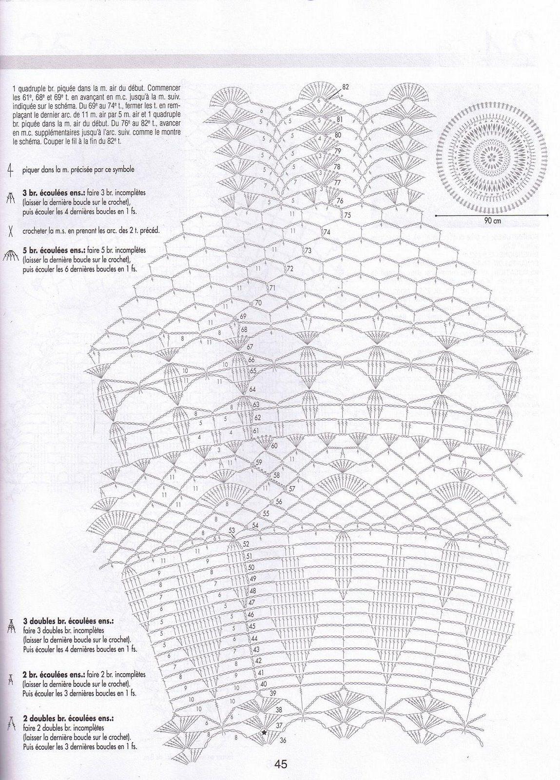 Creations Crochet Chemin De Table