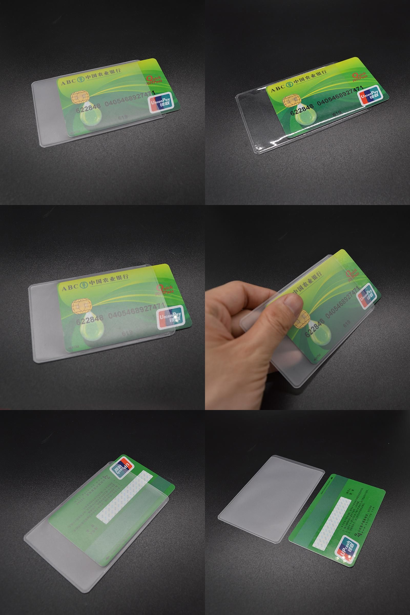 Visit to Buy] Waterproof Pvc Id Credit Card Holder Silicone ...