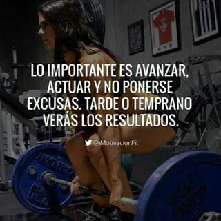 No Te Pongas Excusas Solo Hazlo Frases De Motivacion Gym